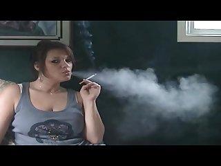 Denise smoking snapstream
