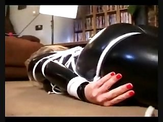 Bondnage Humping orgasm catsuit
