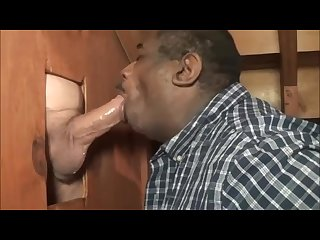daddys seriously giant white cock unloads at pro cock sucker\'s gloryhole GH