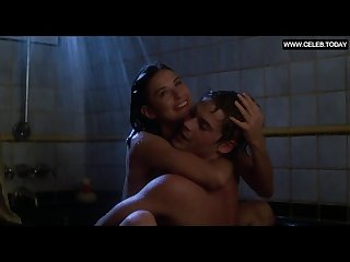 demi moore teen topless sex in the shower sexy scenes about last nigh