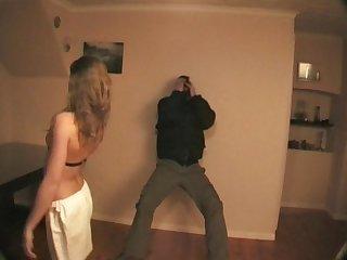 How to beat a man karate girl destroys an armed man