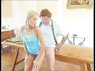 Stupid barely legal daughter pleasures dad s friend