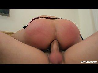 Livegonzo katja kassin horny anal redhead likes it hard