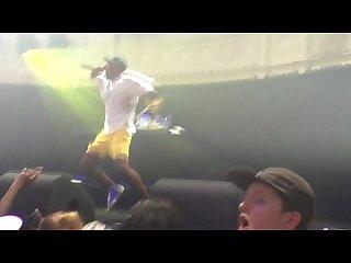 Tyler the creator concert footage
