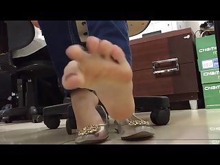 Foot tease 1