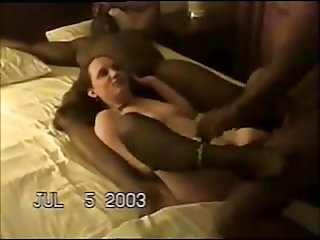 Horny wife hard bbc gangbang