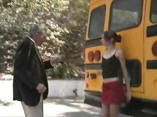 Tracie trixxx school bus girls