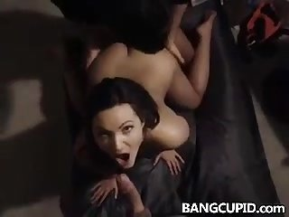 Sharing sexy wife with best friends doggystyle and bj