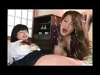 Japanese Futanari - Mother and Daughter