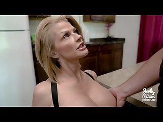 Joslyn james in stepmom S protein diet jerky wives