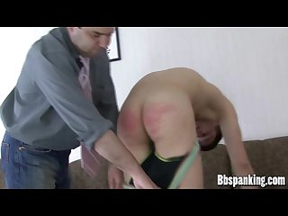 Big brother spanking bad boy