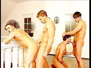 Muscle gang scene 2
