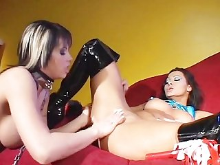 Girls sodomizing girls 2 scene 3