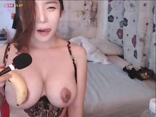 KBJ Korean BJ Amateur Big Boob Korean Tease 3