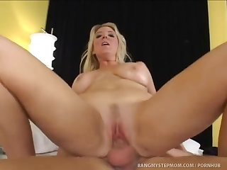 Johnny fucks his hot blonde stepmom