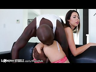 Melissa moore takes 11 inch bbc