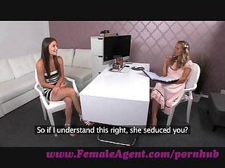 Femaleagent milf strikes it lucky with a vision of beauty