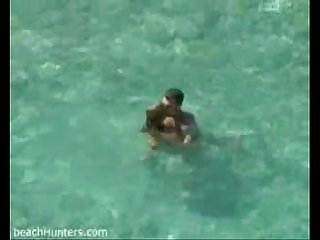 Hot sex in the sea spycamed