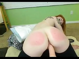 Spanking on fuck machine combocams com