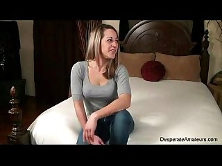 Casting nervous first time desperate amateurs