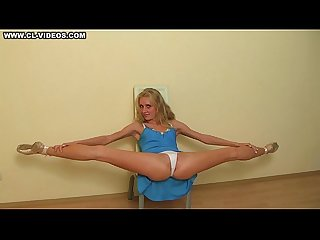 Stretching Girl