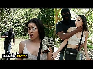 Bangbros jay has outdoor sex with petite black treat maya bijou