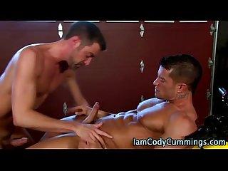 Muscle man hunk cody cummings