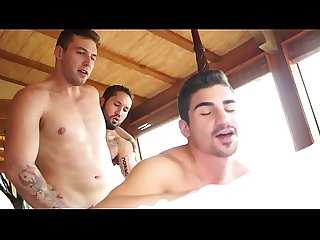 machos fudendo - Atticus Fox, Jeff Powers e Lukas Valentine