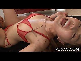 Cum loving oriental wench fuck scene