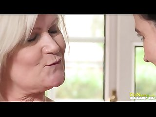 OldNannY British Matures Lesbian Sex Adventure