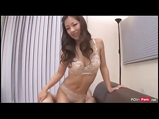 Big tits asian pornstar satomi suzuki uncensored awesome titjobs