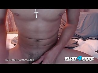 Alan Rodgers - Flirt4Free - Glasses and Braces Boy Next Door Has One Big Cock