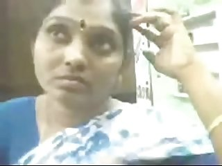 Vid 20160725 pv0001 villivakkam lpar it rpar tamil 38 yrs old married housewife aunty janaki boobs p