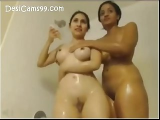 Lesbian Play in Bathroom Hot Girls Hot