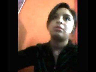Nenita loquita muestra por webcam