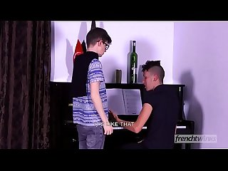 The Piano Lesson between twinks Abel Lacourt & Kevin Ventura