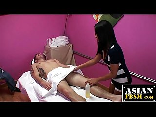 Massage parlor body to body rubdown