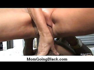 Interracial cougar porn from watching my mom go black 22