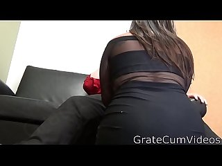 nasty little whore takes my cum