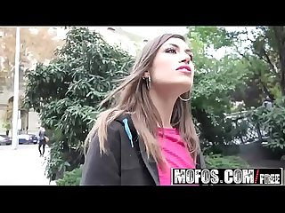 Mofos - Public Pick Ups - Spanish Beauty Gives Messy Head starring Julia Roca