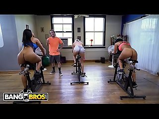 Bangbros latina milf rose Monroe gets big ass fucked in spin class