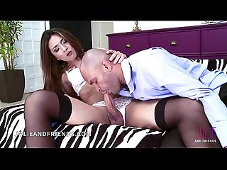 Bigo cock tranny fucks hard anf assohle destroyed by guy that come on her