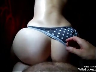 Amateur milf getting her ass spanked and fucked good