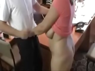 Curvy Office Fuck Big Natural Tits
