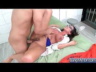 Hot Sexy Patient (Ariella Ferrera) Get Horny And Bang Hard Style With Doctor mov-04
