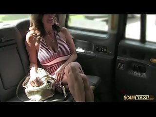 Damn milf fucks Anal to get A free ride from the driver
