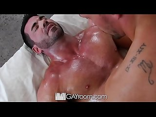 GayRoom Tight asshole feels every inch with Billy Santoro