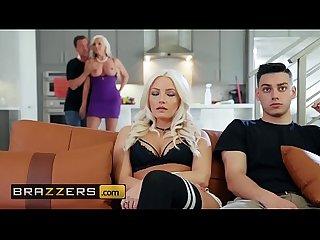 Brazzers - Mommy Got Boobs - (Alena Croft, Jessy Jones) - Getting It On With My..