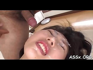 Raucous anal for breasty asian babe