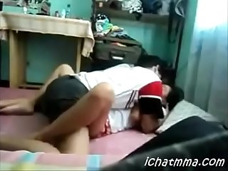 Indian boy eating pussy his gf and girl hard sucking cock her gf in hotal room hardfuck